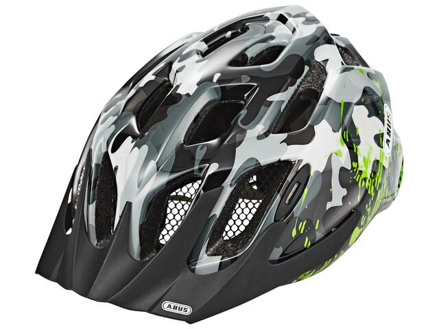 ABUS MountX Cykelhjelm Børn grå/farverig